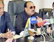 مظفر آباد: وزیر اعظم آزاد کشمیر چوہدر عبدالمجید، وزیر خزانہ چوہدری ..