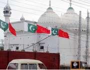 راولپنڈی: میٹرو بس سروس کے افتتاح کے حوالے سے مری روڈ پر پاکستان اور ..