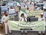 کراچی: برما میں مسلمانوں پر اذیت ناک مظالم کے خلاف تنظیم اسلامی کے زیر ..
