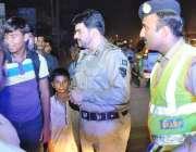 ََٓٓلاہور: ڈی آئی جی موٹروے پولیس مرزا فاران بیگ محفوظ ڈرائیونگ مہم ..