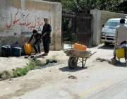 کوئٹہ: صوبائی دارالحکومت میں پینے کے پانی کی قلت کے باعث شہری میکانگی ..