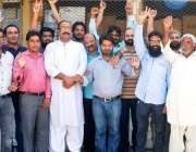 راولپنڈی: انجمن تاجران جی ٹی روڈ کے تاجر صدر وقار خالد قریشی کی قیادت ..