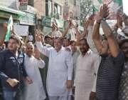 لاہور: یو سی 39کے امیدوار برائے چیئرمین شاہد محمود بلدیاتی انتخابات ..