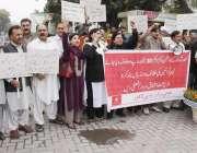 لاہور: عوامی مرکرز پارٹی کے زیر اہتمام سندر حادثہ کے خلاف احتجاجی مظاہرہ ..