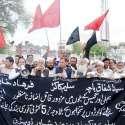 پشاور: ریلوے ملازمین اپنے مطالبات کے حق میں احتجاجی مظاہرہ کر رہے ہیں۔