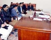 مظفر آباد: صدر آزاد کشمیر سردار یعقوب خان سے سول سیکرٹریٹ کے عارضی ملازمین ..