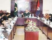 پشاور: آئی جی پی ناصر خان درانی امن و امان کی صورتحال سے متعلق صوبہ بھر ..