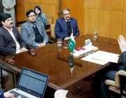 لاہور: صوبائی وزیر خوراک بلال یاسین لاہور میں ریسٹورنٹس اور ہوٹلز کی ..