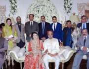 لاہور: صوبائی وزیر قانون رانا ثناء اللہ اور مشیر صحت خواجہ سلمان رفیق ..