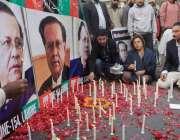 لاہور: پیپلز پارٹی کے زیر اہتمام سابق گونر پنجاب سلمان تاثیر کی برسی ..