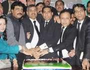 لاہور: پیپلز پارٹی لائرز فورم لاہور کے زیر اہتمام شہید ذوالفقار علی ..