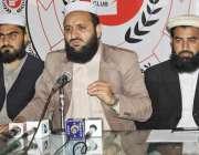 لاہور: جمعیت طلبہ عربیہ پاکستان کے منتظم مولانا عبیدالرحمن عباسی پریس ..