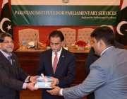 اسلام آباد: پاکستان انسٹیٹیوٹ فار پارلیمنٹری سروس کے ایگزیکٹو ڈائریکٹر ..