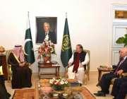 اسلام آباد: سعودی وزیر خارجہ عادل بن احمد الجبیر کی قیادت میں سعودی ..