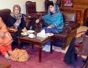 کوئٹہ: سپیکر بلوچستان اسمبلی راحیلہ درانی سے خواتین کونسلرز کا وفد ..