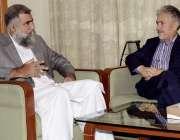 اسلام آباد: ریکٹر انٹر نیشنل اسلامک یونیورسٹی ڈاکٹر معصوم یوسفزئی ..