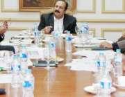 لاہور: صوبائی وزیر تعلیم رانا مشہود احمد خان ایوان اقبال میں پوزیشن ..
