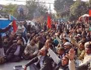 لاہور: گیپکو کے ڈپٹی مینیجر سرویلنس مظہر نواب کے قتل کے خلاف پاکستان ..