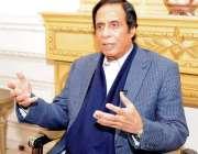 لاہور: پاکستان مسلم لیگ (ق) کے مرکزی رہنما و سابق نائب وزیر اعظم چوہدری ..