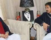 اسلام آباد: سینئر وزیر آزاد کشمیر چوہدری یاسین سے پیپلز پارٹی برطانیہ ..
