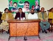 کوئٹہ: پاکستان مسلم لیگ (ن) یوتھ ونگ کے رہنماء لعل محمد اچکزئی پریس کانفرنس ..
