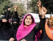 حیدر آباد: مسوبھرگڑی کے رہائشی با اثر افراد کی جانب سے دو لڑکیوں اور ..