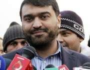 لاہور: ڈائریکٹر جنرل سپورٹس بورڈ پنجاب عثمان انور میڈیا سے گفتگو کر ..