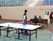 جامشورہ: مہران یونیورسٹی میں انٹر یونیورسٹی ٹیبل ٹینس 2015-16 کے مقابلوں ..