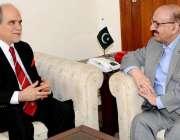 اسلام آباد: وزیر اعظم کے مشیر عرفان صدیقی سے سیکرٹری جنرل ایشیا پیسیفک ..