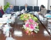 اسلام آباد: وفاقی وزیر سائنس اینڈ ٹیکنالوجی رانا تنویر کو یو سی آئی ..