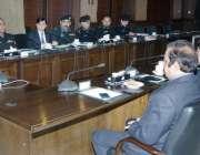 لاہور: وزیر اعلیٰ پنجاب محمد شہباز شریف صوبے میں امن و امان کی صورتحال ..