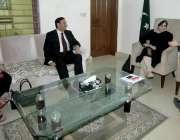 لاہور: تحریک انصاف پنجاب کے سابق آرگنائزر چوہدری محمد سرور رکن پنجاب ..