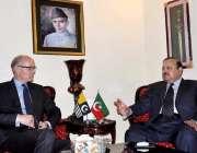 اسلام آباد: کشمیر پی ٹی آئی کے صدر بیرسٹر سلطان محمود چوہدری سے ناروے ..