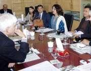 لاہور: مشیر وزیر اعلیٰ پنجاب برائے صحت خواجہ سلمان رفیق صوبائی کمیٹی ..