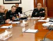 لاہور: آئی جی پنجاب مشتاق احمد سکھیرا آر پی اوز کانفرنس سے خطاب کر رہے ..