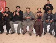 لاہور: تحریک انصاف کے انٹر پارٹی انتخابات کے حوالے سے منعقدہ اجلاس ..