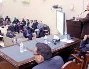 لاہور: صوبائی وزیر تعلیم رانا مشہود احمد خان سکولوں کی سکیورٹی بہتر ..