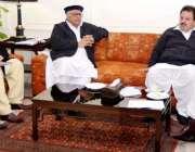 پشاور: وزیر اعلیٰ خیبر پختونخوا پریز خٹک سوات ایکسپریس وے سے متعلق ..