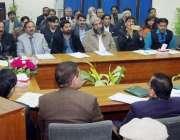 لاہور: صوبائی وزیر تعلیم رانا مشہود احمد خان نجی سکولوں کی سیکیورٹی ..