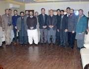 لاہور: پی ٹی آئی جنوبی پنجاب کے 14اضلاع کے سابق ضلع صدور کا مشاورتی اجلاس ..