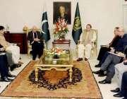 اسلام آباد: وزیر اعظم محمد نواز شریف ملک کی مجموعی سلامتی اور اقتصادی ..