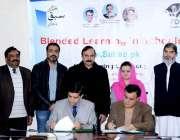 اسلام آباد: وزیر مملکت کیپیٹل ایڈمنسٹریشن اینڈ ڈویلپمنٹ ڈویژن ڈاکٹ ..