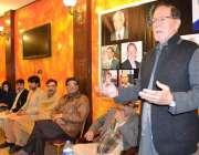 پشاور: پاکستان اولمپک ایسوسی ایشن کے نو منتخب نائب صدر سلیم سیف اللہ ..