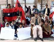 حیدر آباد: قومی عوامی تحریک کے سربراہ رسول بخش پلیجو کی قیادت میں تھر ..