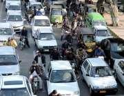 لاہور: اورنج لائن میٹرو ٹرین منصوبے کے خلاف متحدہ اپوزیشن کے احتجاج ..