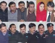 قصور: ڈی سی او سلمان غنی اور ڈی پی سید علی ناصر رضوی تعلیمی اداروں میں ..