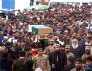 اسلام آباد:پاک آرمی کے تربیتی تیارے میں شہید ہونیوالے کیپٹن حسن احمد ..