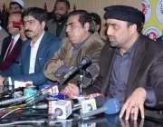 لاہور: انجمن تاجران پاکستان کے مرکزی سیکرٹری جنرل نعیم میر کے انجمن ..