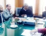 لاہور: مشیر وزیر اعلیٰ پنجاب برائے صحت خواجہ سلمان رفیق سے صحت کے شعبہ ..