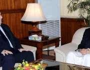 اسلام آباد: سپیکر قومی اسمبلی سردار ایاز صادق سے عراق کے سفیر ڈاکٹر ..